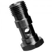 Hollow screw 1-fold – long – aluminium
