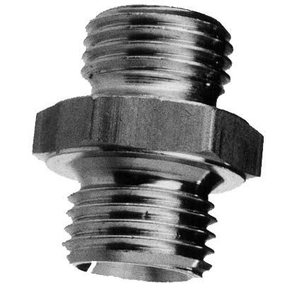 Doppelnippel – Aluminium