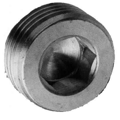 Verschlußschraube – zylindrisch – Messing